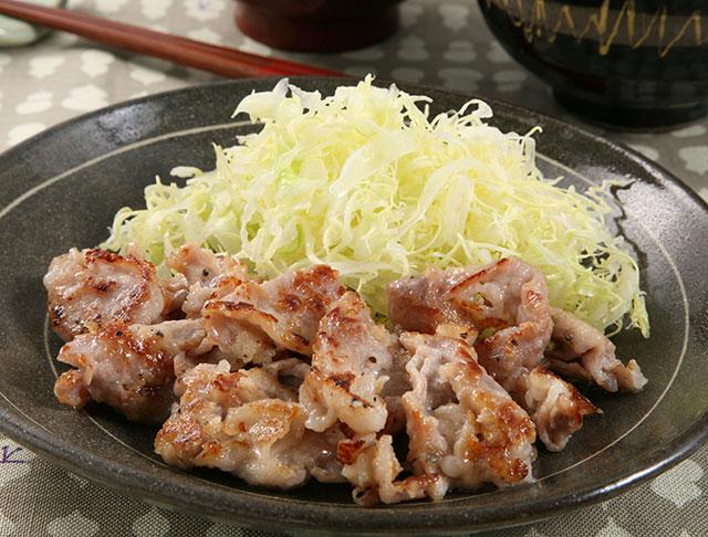 麹 豚 バラ 塩